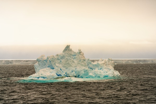Small iceberg with a57a behind